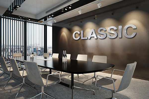 Classic Interior Business Signs by Toronto Custom Signs