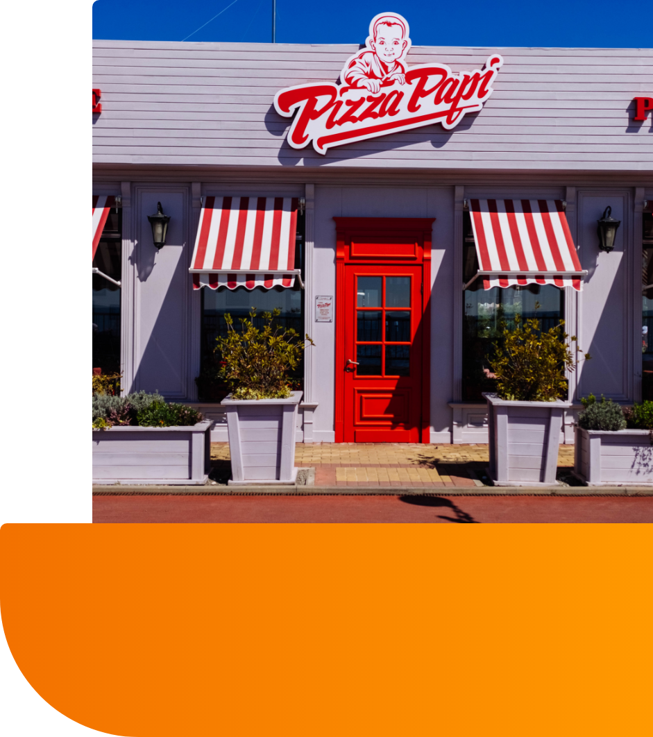 Pizza Papi Custom Made Signs in Toronto, ON