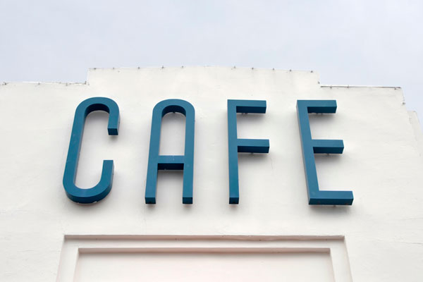 Café Channel Letter Signs by Toronto Custom Signs